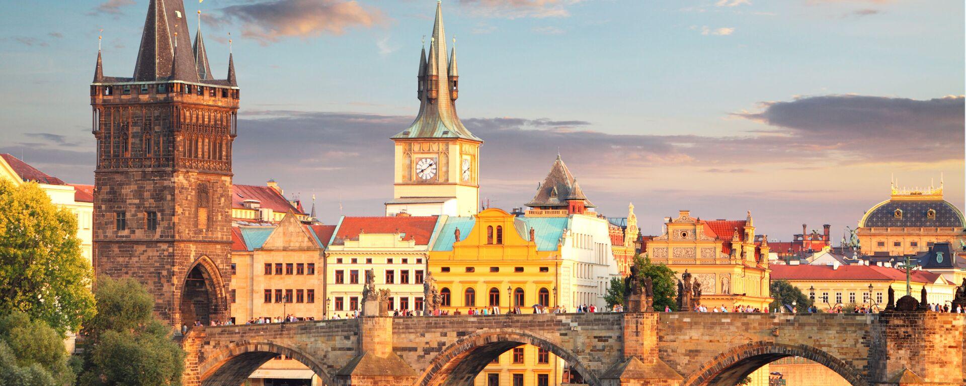 Praha, Karlův most - Sputnik Česká republika, 1920, 12.08.2021