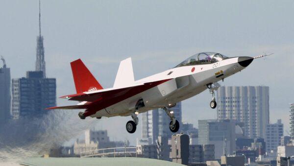 První let japonské stíhačky páté generace X-2 Shinshin - Sputnik Česká republika
