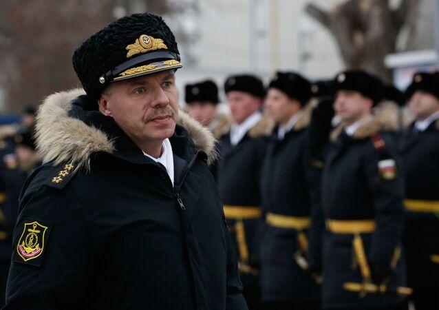 Velitel Černomořské flotily Aleksandr Vitko