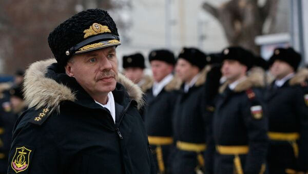Velitel Černomořské flotily Alexandr Vitko - Sputnik Česká republika