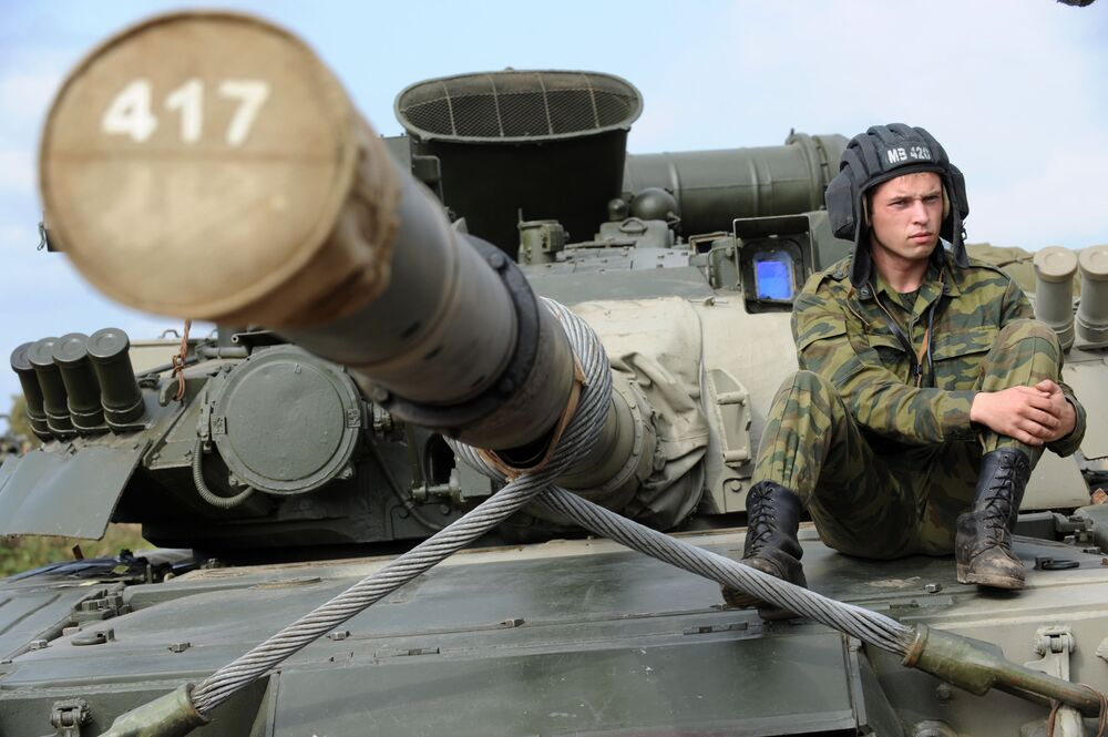 """""""Létající tank"""" T-80"""