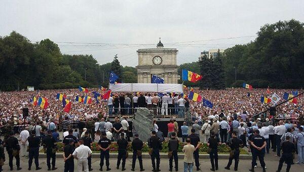 Demonstrace v Kišiněvě - Sputnik Česká republika