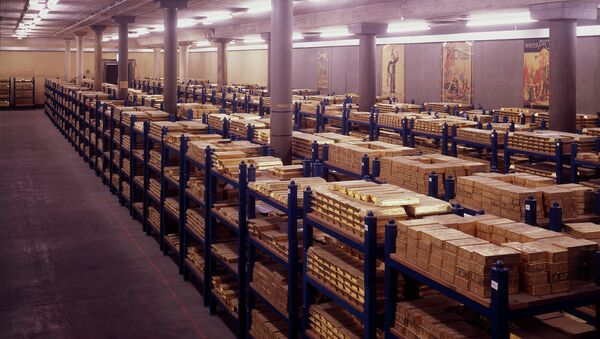 Zlaté trezory, Bank of England - Sputnik Česká republika