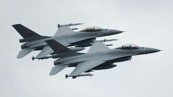 Norské F-16 - Sputnik Česká republika