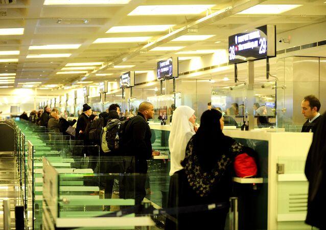 Pasová kontrola v Istanbulu
