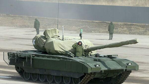 Tank Armata - Sputnik Česká republika