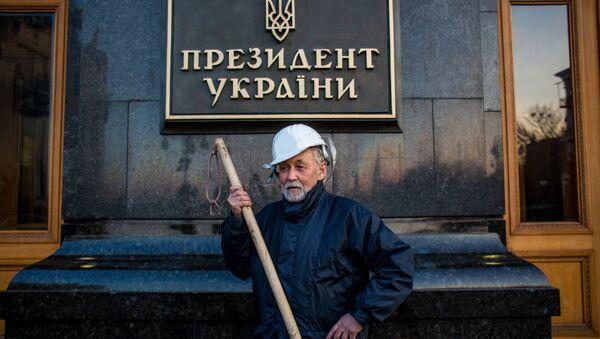 Porošenkova administrativa v Kyjevě - Sputnik Česká republika