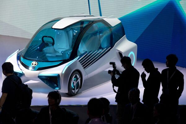 Inovace pro transformaci. Novinky Pekingského autosalonu - Sputnik Česká republika