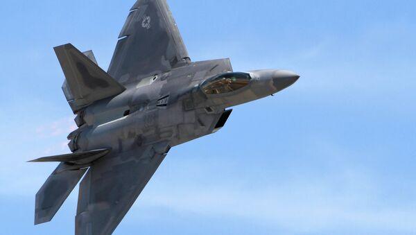 F-22 Raptor - Sputnik Česká republika