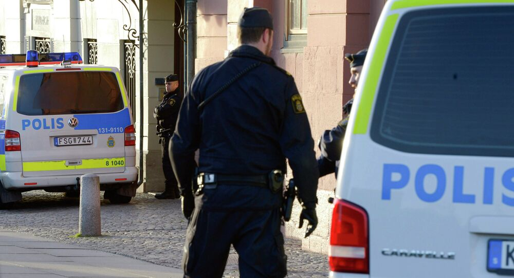 Švédská policie