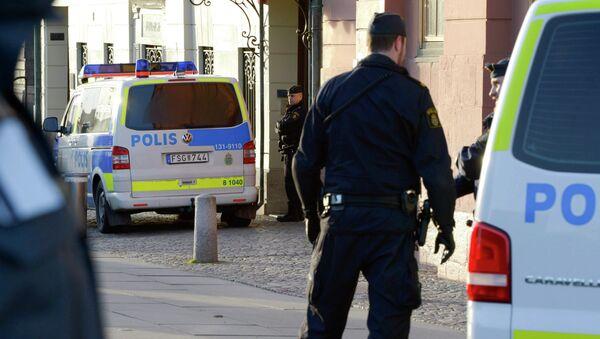 Švédská policie - Sputnik Česká republika