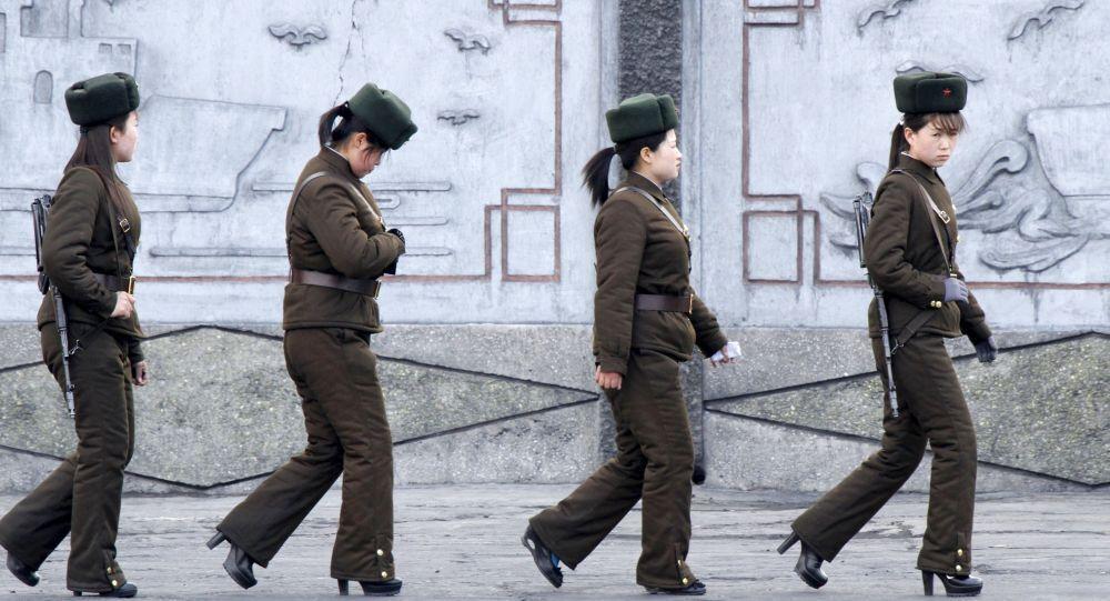 Ženy v armádě KLDR