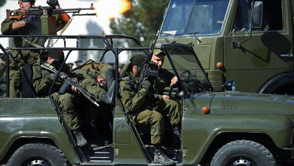 Ruští vojáci na základně v Tádžikistánu - Sputnik Česká republika