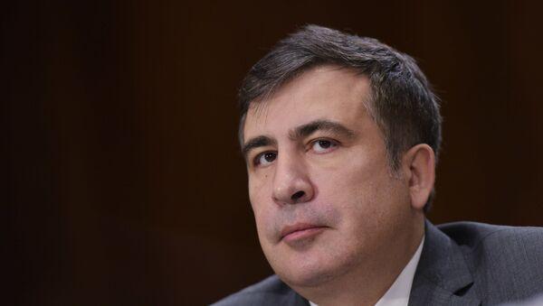 Gubernátor Oděské oblasti Michail Saakašvili - Sputnik Česká republika