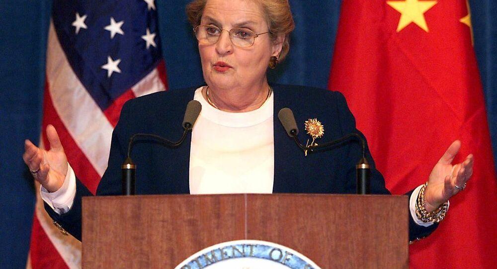 Bývalá ministryně zahraničí USA Madeleine Albrightová