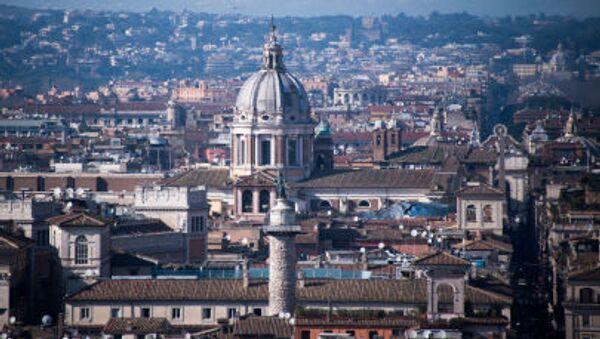 Panorama města Řím - Sputnik Česká republika