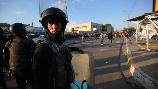 Iráčtí policisté - Sputnik Česká republika