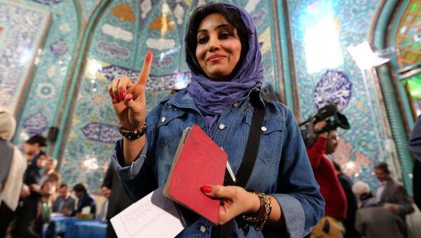 Volby v Íránu - Sputnik Česká republika