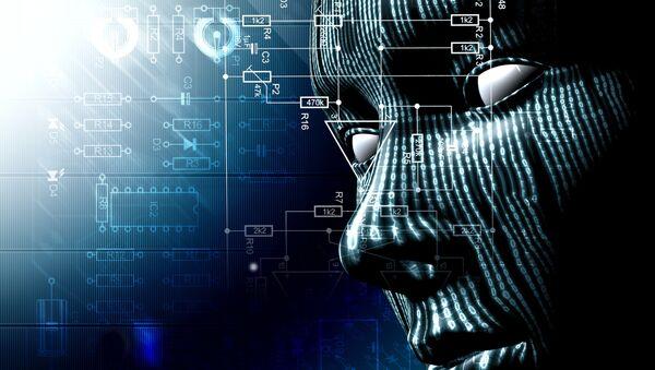 Robot s umělou inteligencí - Sputnik Česká republika
