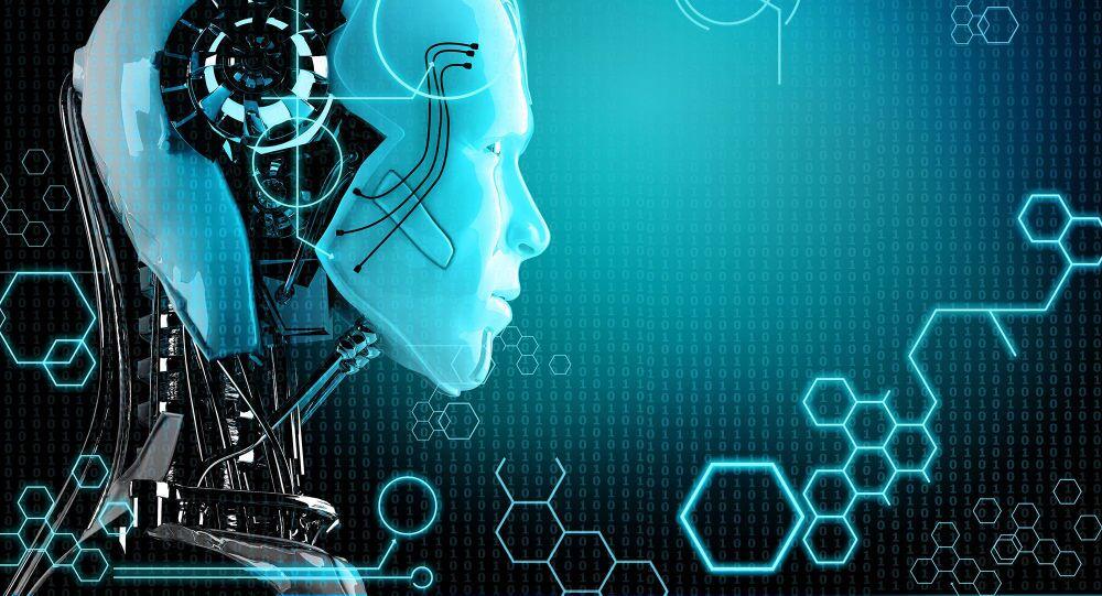Model robota s umělou inteligencí