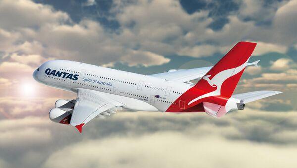 Letadlo společnosti Qantas - Sputnik Česká republika
