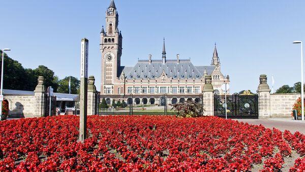 Arbitráž v Haagu - Sputnik Česká republika