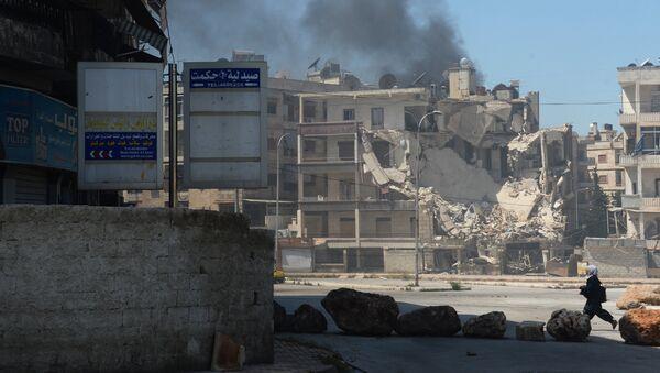 Útok teroristů na Aleppo - Sputnik Česká republika