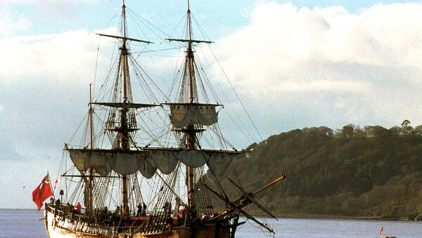 Kopie lodi kapitána Jamese Cooka - Sputnik Česká republika
