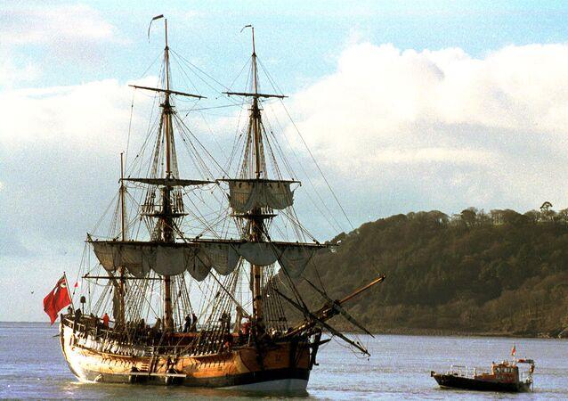 Kopie lodi kapitána Jamese Cooka