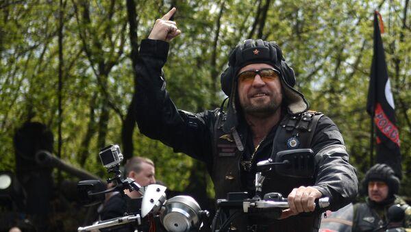 Vůdce ruského motorkářského klubu Noční vlci Alexandr Zaldostanov - Sputnik Česká republika