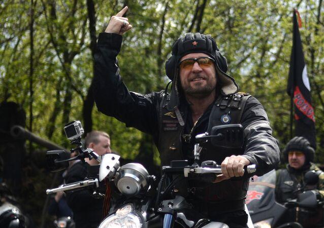 Vůdce ruského motorkářského klubu Noční vlci Alexandr Zaldostanov