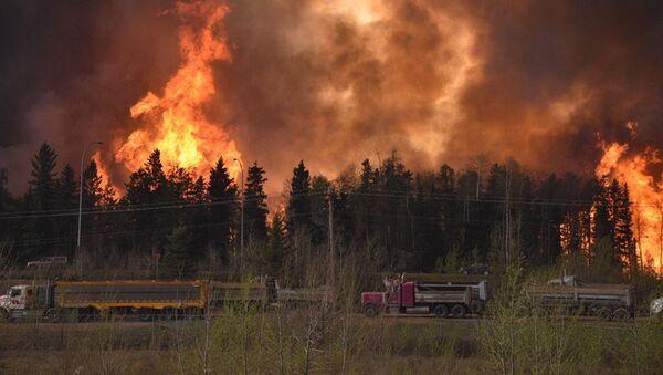 Požáry v Kanadě - Sputnik Česká republika