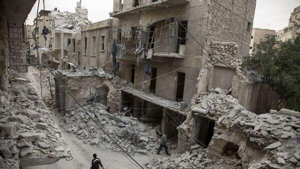 Rozvaliny Aleppa - Sputnik Česká republika