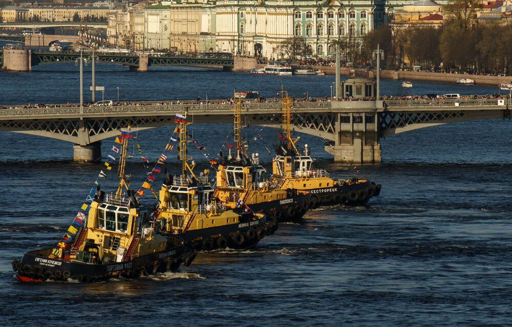 Festival ledoborců v Petrohradu