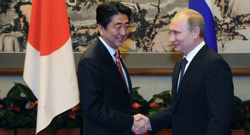 Šinzó Abe a Vladimir Putin