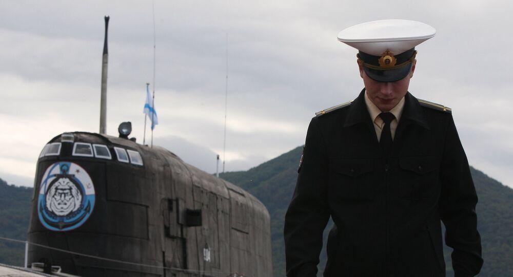 Ponorka 949А Čeljabinsk