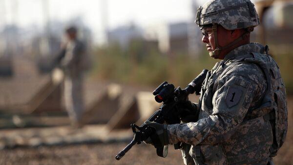 Američtí vojáci v Sýrii - Sputnik Česká republika
