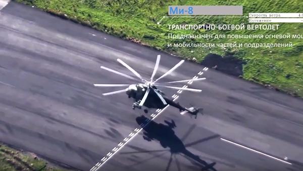 Ruské letectvo v Sýrii z ptačí perspektivy. VIDEO - Sputnik Česká republika
