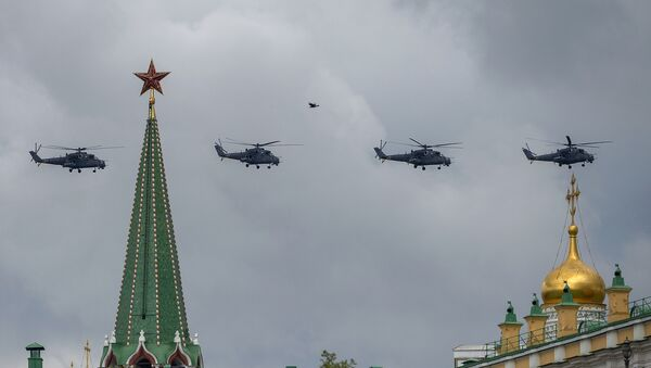 Vrtulníky Mi-35 - Sputnik Česká republika