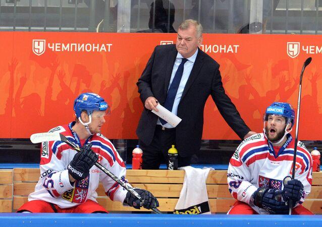 Hokejový trenér Vladimír Vůjtek
