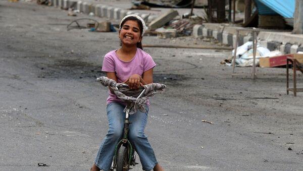 Syrské dítě - Sputnik Česká republika