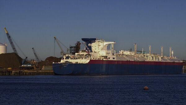 Matthew, tanker na zkapalněný plyn - Sputnik Česká republika