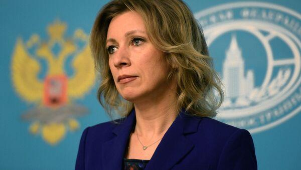 Oficiální představitelka Ministerstva zahraničních věcí Ruska Maria Zacharovová - Sputnik Česká republika