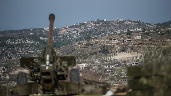 Syrská armáda v provincii Idlib - Sputnik Česká republika