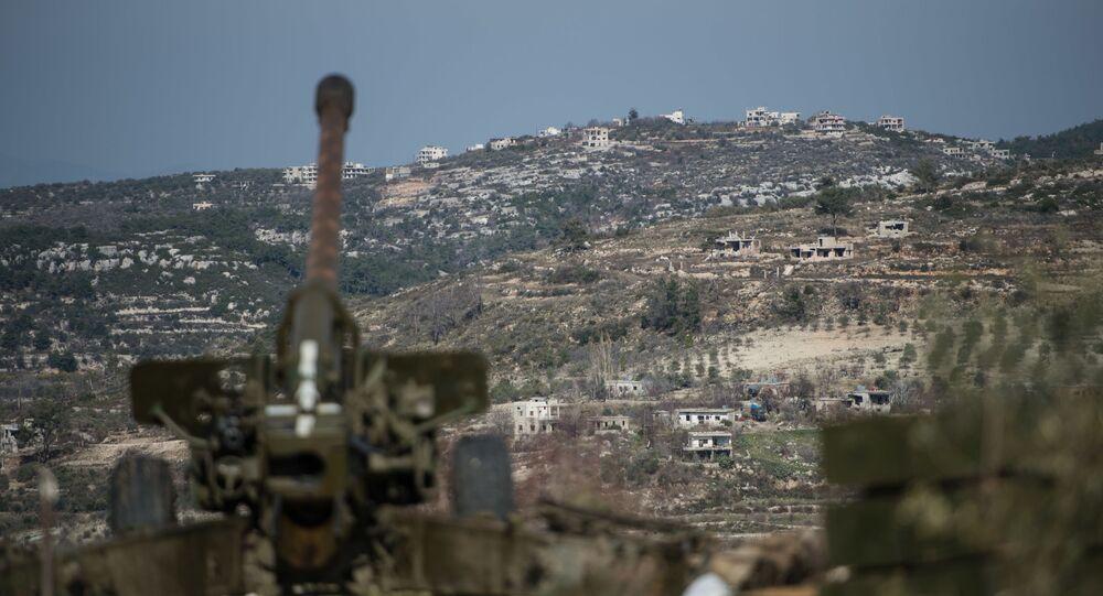 Sýrská armáda v provincii Idlib
