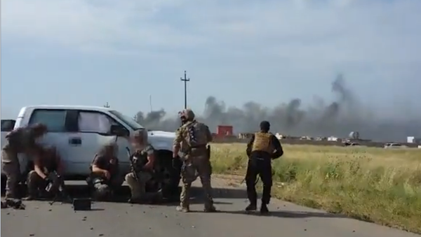 Média odhalila video smrti příslušníka amerických speciálních sil v Sýrii - Sputnik Česká republika