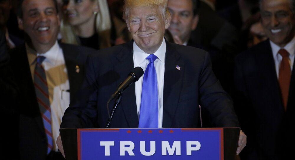 Kandidát na prezidenta za Republikánskou stranu miliardář Donald Trump