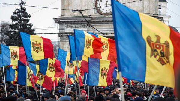 Protestní akce v Kišiněvě - Sputnik Česká republika