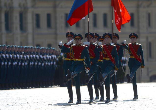 Siegesparade 2016 auf dem Roten Platz