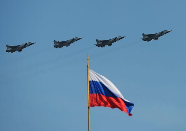 Dálkové stíhačky MiG -31BM
